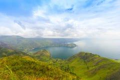 Toba lake at indonesia Royalty Free Stock Photos