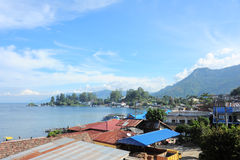 Toba Lake Medan royalty free stock photos