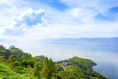 Toba lake nature Royalty Free Stock Image