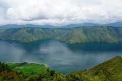 Toba lake on Sumatra Royalty Free Stock Photography