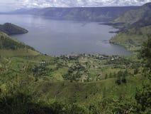 Toba sjö Royaltyfri Fotografi