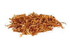 Tobacco. A pile of pipe tobacco with white background Royalty Free Stock Image