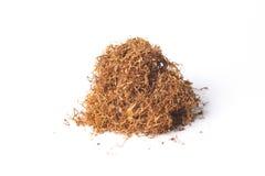 Tobacco. Pile isolated on white background Royalty Free Stock Photo