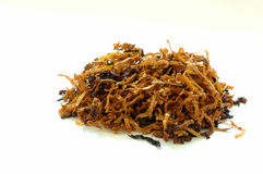 Tobacco. Pile of tobacco with copyspace stock image