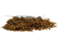 Tobacco Addiction Royalty Free Stock Photography