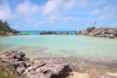 Tobacco Bay. Beach in Bermuda Stock Images