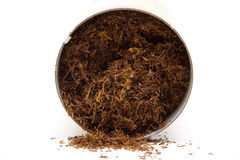 Tobacco in the can Royalty Free Stock Image