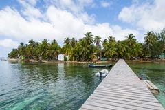 Tobacco Cays in Belize royalty free stock images
