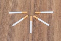 Tobacco  cigarette detrimental Stock Photos