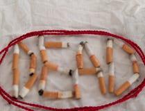 Tobacco, dead Stock Photo