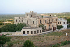 Tobacco factory in ostuni, italy. Abandoned tobacco factory in south italy Stock Image