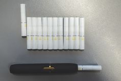 Tobacco heating system royalty free stock photography