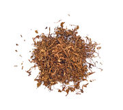 tobacco isolated on a white background Royalty Free Stock Image