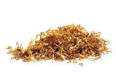 Tobacco  isolated on white background. Tobacco heap isolated on a white background Stock Photos