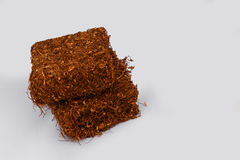 Tobacco pack. In close up Stock Images