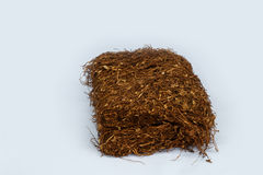 Tobacco pack. In isolate background Stock Images