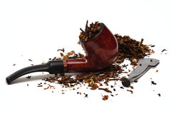 Tobacco-pipe Stock Photography