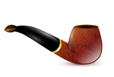 Tobacco pipe Royalty Free Stock Photo
