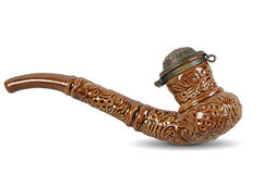 Tobacco-pipe. Is one of the ukrainian souvenir Royalty Free Stock Images