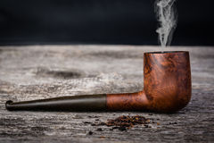 Tobacco pipe from briar Royalty Free Stock Image