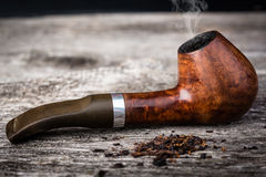 Tobacco pipe from briar Royalty Free Stock Photo