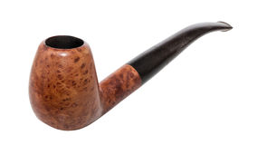 Tobacco pipe close-up Royalty Free Stock Images