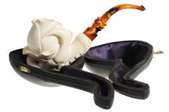 Tobacco pipe from meerschaum Stock Images