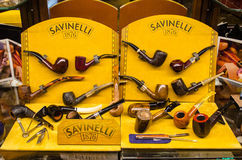Tobacco pipes Stock Photography