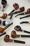 Tobacco pipes Stock Image