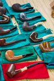 Tobacco pipes Royalty Free Stock Photo