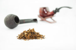 Tobacco and pipes Royalty Free Stock Image