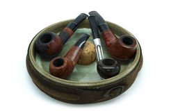 Tobacco pipes Royalty Free Stock Images
