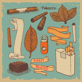 Tobacco products  Stock Photo