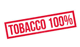 Tobacco 100 rubber stamp Stock Images