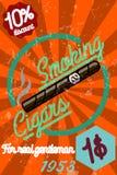 Tobacco shop banner Stock Photos