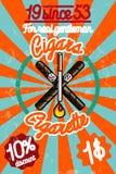 Tobacco shop banner Stock Image