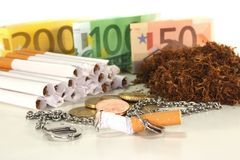 Tobacco tax Stock Photo