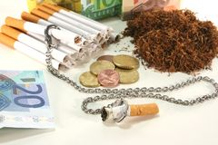 Tobacco tax Royalty Free Stock Image