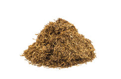 Tobacco on white background Royalty Free Stock Images