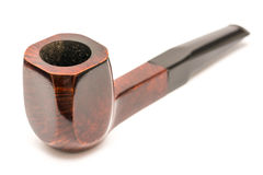 Tobacco Wooden Pipe Royalty Free Stock Images