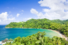 Tobago. Englishman's Bay in Tobago, Caribbean Stock Image