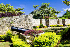 Tobago. Fort Milford in Tobago, Caribbean Royalty Free Stock Image