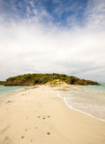 Tobago cays Grenadines Deserted Island Royalty Free Stock Images