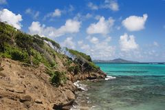 Tobago Cays Marine Park Royalty Free Stock Photography