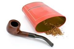 tobak för askrørtin Royaltyfri Bild