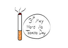 Tobakdag Royaltyfria Bilder