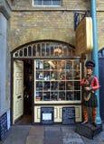 Tobaklager London Arkivfoto