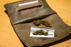 Tobakpåse Fotografering för Bildbyråer