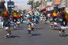 Tobas Dance Group - Arica, Chile Stock Photo