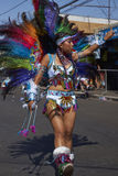 Tobas Dancer - Arica, Chile Royalty Free Stock Photography